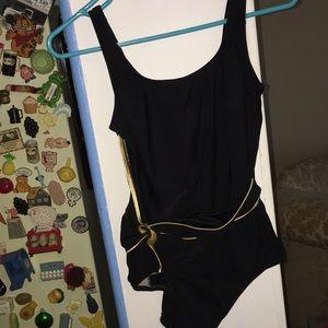 VTG 1pc bathing suit swimwear Roxanne 14 36C